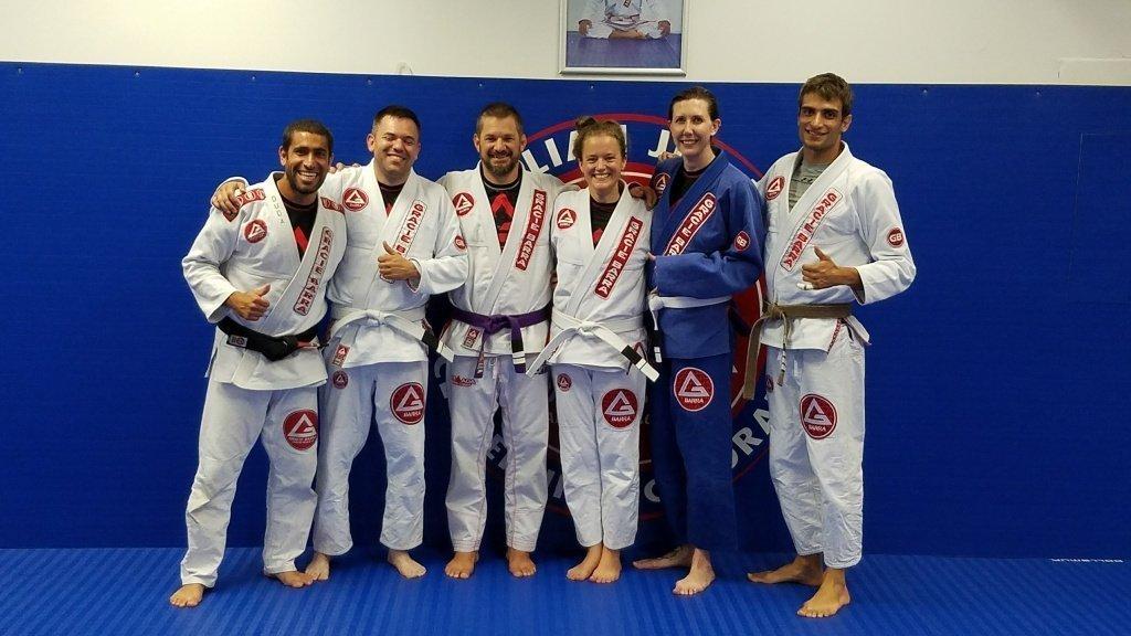 Jiu-jitsu friendships